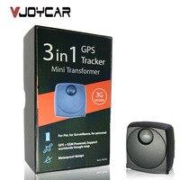 VJOYCAR T633G Dünya Kullanımı 3G Mini GPS Tracker Taşınabilir Su Geçirmez Uzun Pil Ömrü Maksimum 7 Iş Günü