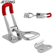 Регулируемый ящик для инструментов чехол металлическая застежка-тогл поймать Застежка/198Lbs 90 кг Quick Release Clamp анти-скольжения двухтактный зажимное инструменты