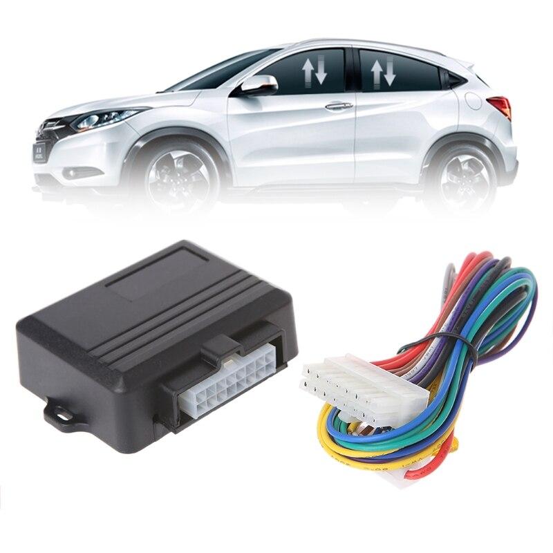 Envío gratuito Universal de la energía del coche de ventana rollo más cerca para cuatro puertas remotamente cerca de Windows