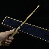 Arrive Metal Iron Core Lord Voldemort Wand Harry Potter Magic Magical Wand Elegant Ribbon Gift Box