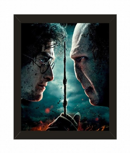 Home Decor Harry Potter Series Movie Poster with Picture Frame 10X8 ...