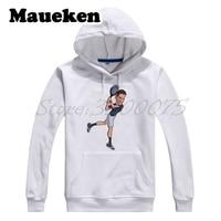 Men Hoodies Novak Djokovic Comic Cartoon Nole Djoker Sweatshirts Hooded Thick For Fans Gift Autumn Winter