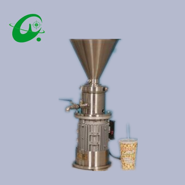 Capacity 20-100L/H stainless steel Vertical colloid mill grinder Soybean milk machine for peanut peanut butter, sesame paste colloid mill grinder peanut butter maker machine sesame paste grinder nut butter making machine