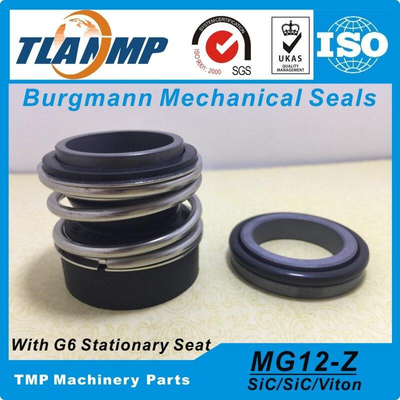MG12/14-Z... MG12/14-G6 juntas mecánicas burgmann para Wilo MVI 2/4/8 MHI 2/4/8/16 MHIL bombas MG12-14 con G6 asiento estacionario