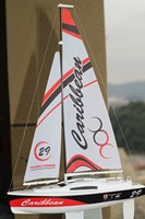 RTR 1:46 Scale Micro sailing yacht toys for children summer remote control boat