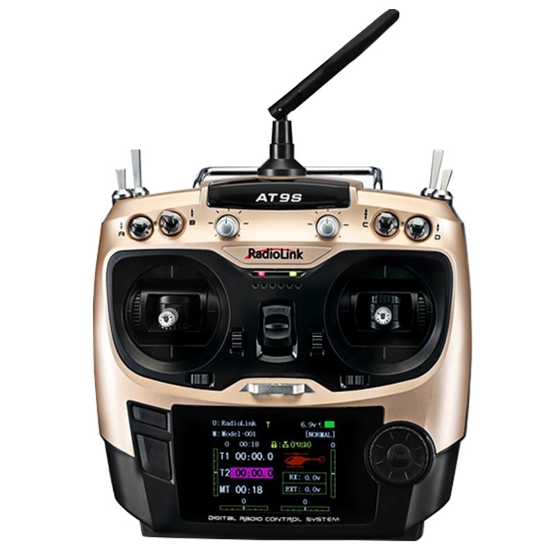Radiolink AT9S R9DS Radio télécommande Mode 2 système DSSS FHSS 2.4G 10CH/9CH émetteur récepteur pour hélicoptère RC/bateau RC