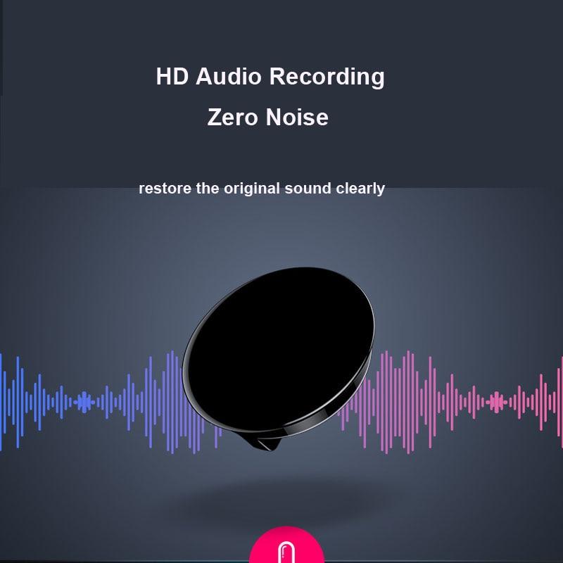 Mini enregistreur vocal avec mot de passe MP3 Audio Badge d'enregistrement activé par le son enregistrement professionnel numérique - 3