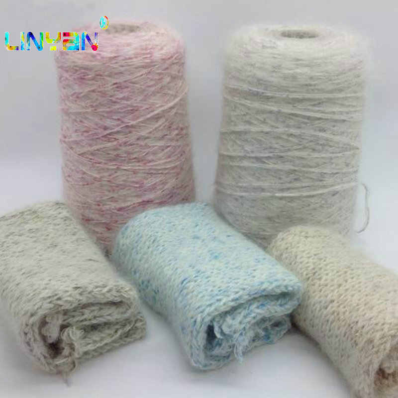 300g yarn for knitting exotic fantasy Wholesale Soft and fluffy Hand-woven line knit Hand crochet scarf knitting mohairt t50