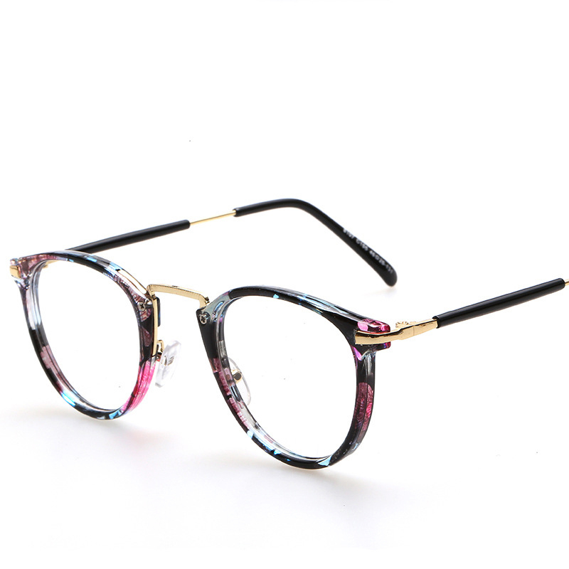 New Style Vintage Retro Classic Round Eyeglasses Frame ...