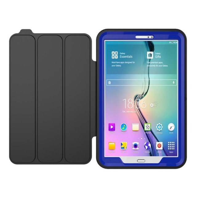 Heavy Duty Shockproof Smart Back Cover Full Body Protective Case For Samsung Galaxy