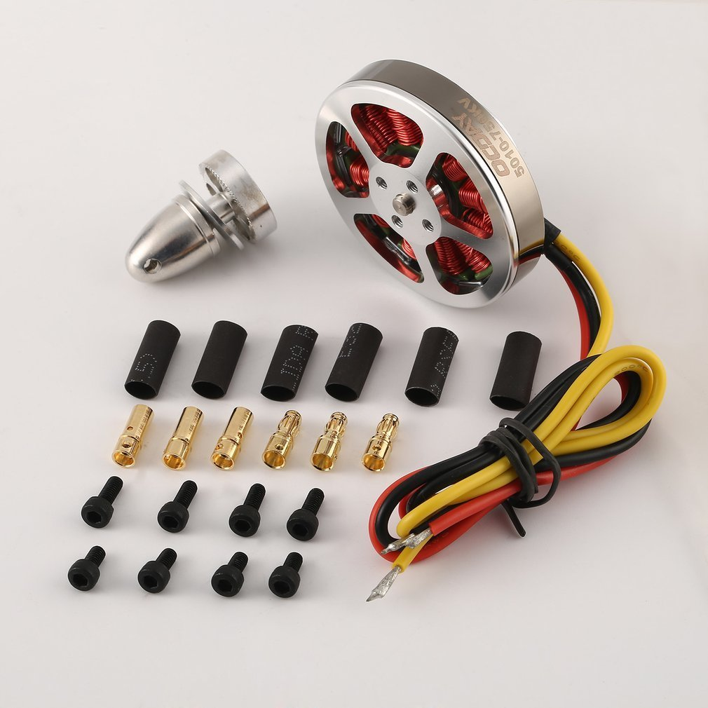 OCDAY 110g <font><b>5010</b></font> 750KV High Torque Aluminum <font><b>Brushless</b></font> <font><b>Motors</b></font> For ZD550 ZD850 RC Multicopter Quadcopter image