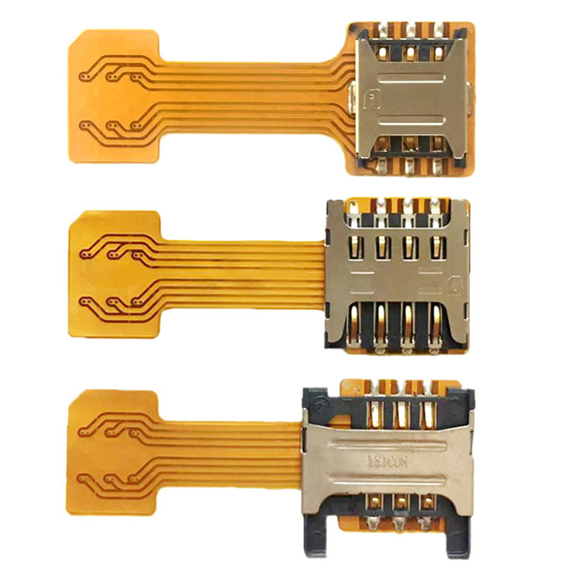 Hybrid Dual Nano SIM Card Adapter Converter Extender Sd Sim External For XIAOMI Redmi Note 3 / Note 4 / Note 4x /Note 5