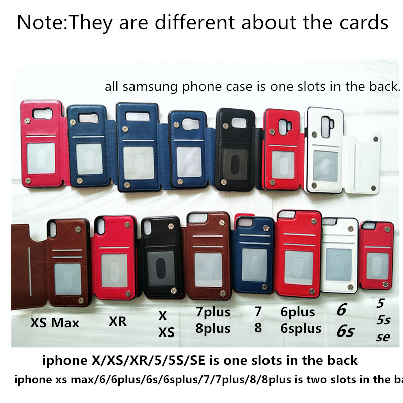 PU Leather Flip Wallet Case for iPhone 11/11 Pro/11 Pro Max 5