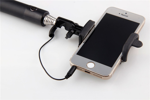 Selfie Stick for Iphone Samsung Galaxy Note 5 S6 Camera Monopod Cover