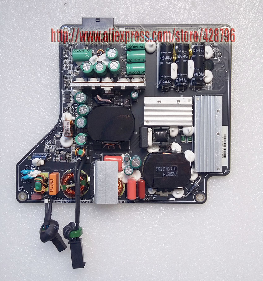 250W Power Supply for 27 A1316(MC007LL)LED &Thunderbolt Cinema Display(A1407) PA-3251-3A 614-0488 614-0487 661-6048