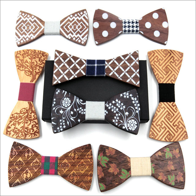 2018 fashion design novelty plaid dot striped vintage gift wooden 2018 fashion design novelty plaid dot striped vintage gift wooden bow ties classic handmade butterfly suits ccuart Image collections