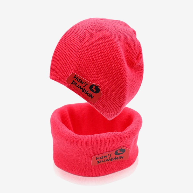 Baby Clothing Baby Cap Infant Caps Brand Candy Color Hat + Scarf Cotton Baby Hat Sets