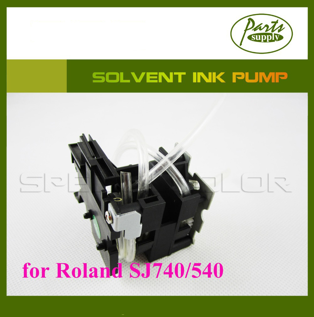 Top Quality Roland SJ740/540 solvent printer Ink pump DX4 Solvent Printer Pump 300 400ml min 24v dc jyy brand big ink pump for solvent printer with free shipping cost by dhl