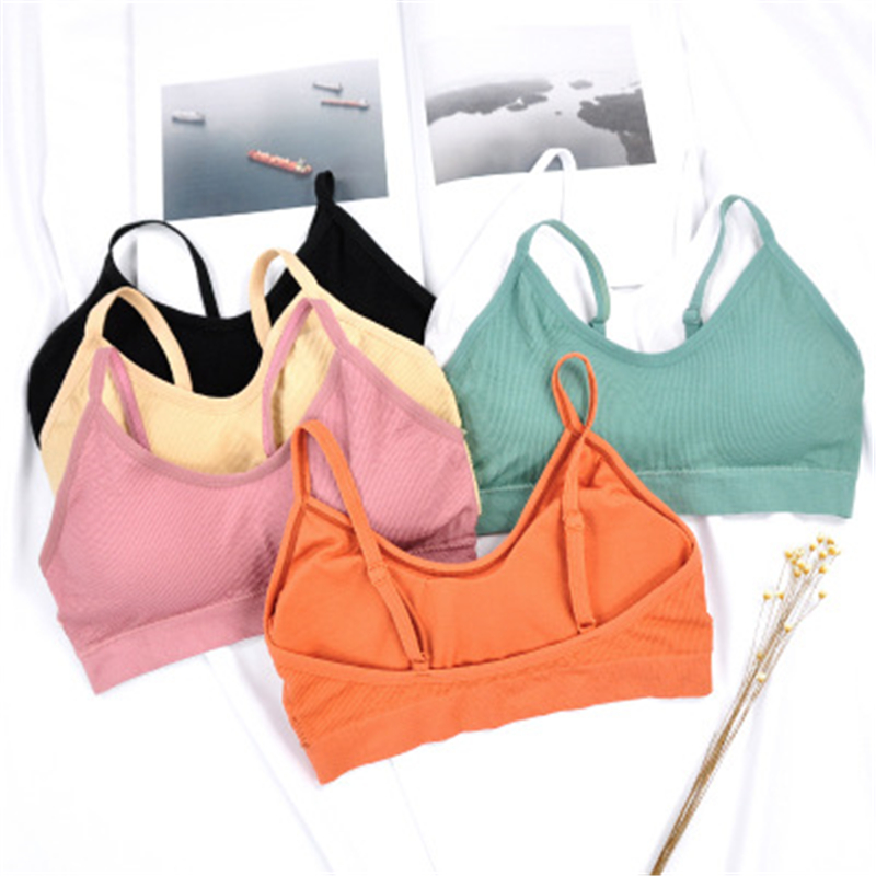 Yoga <font><b>Sport</b></font> Bra <font><b>Women</b></font> Top <font><b>Brassiere</b></font> <font><b>Sports</b></font> Top Bra Gym Push Up <font><b>Women</b></font> Bra <font><b>Fitness</b></font> Athletic Vest Padded Bra Sujetador Deportivo image