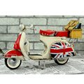 1959 Vespa model Vintage metal motorcycle model Roman Holiday Little sheep with camp basket  toy Diecast metal model motorcycle