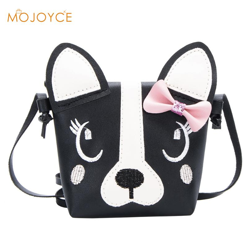 Cartoon Kid Cute Dog Puppy Baby Small Bag Children Messenger Bag Fashion Kids Wallet Kid Crossbody Bag Wallet Girls Mochila Bags girls mini messenger bag cute plush cartoon kids baby small coin purses lovely baby children handbags kids shoulder bags bolsa