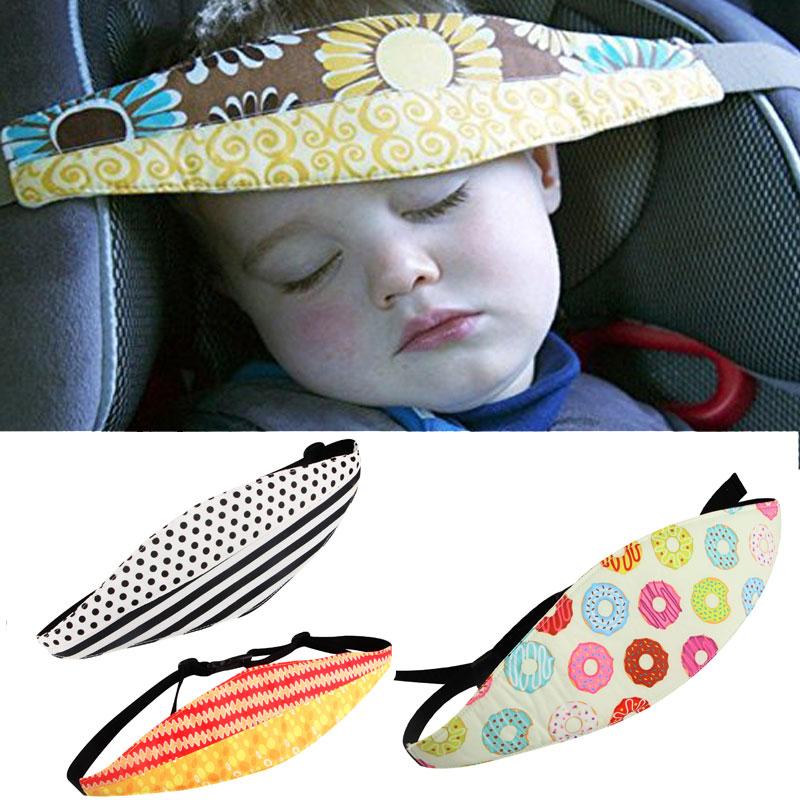 Car Safety Seat Sleep Positioner Infants And Baby Head Support Pram Stroller Fastening Belt Adjustable