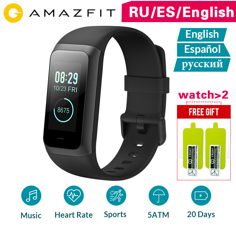 Amazfit Smart Watch Sport Band2 Cor 2 Wristband Heart Rate Monitor Waterproof IPS Screen 20 days