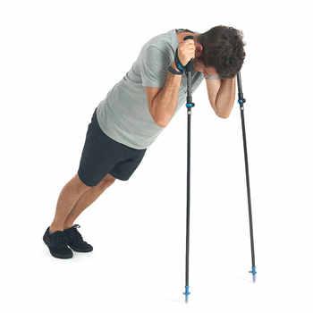 Naturehike Carbon Fiber 5 Sections Foldable Adjustable Trekking Poles Ultralight Walking Hiking Sticks 1 Pcs