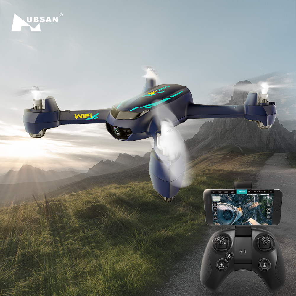 Hubsan H216A X4 DESIRE PRO RC Drone Helicopter 2.4G WIFI Waypoints FPV Quadcopter with 1080P HD Camera Follow Me Headless Mode аксессуар защитное стекло для xiaomi mi8 svekla full screen blue zs svximi8 blue