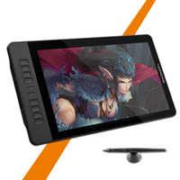 GAOMON PD1560 15,6 pulgadas IPS HD monitor de tableta para gráficos de arte, 8192 niveles, bolígrafo con sensibilidad a la presión, tableta para presentaciones y dibujos, guante