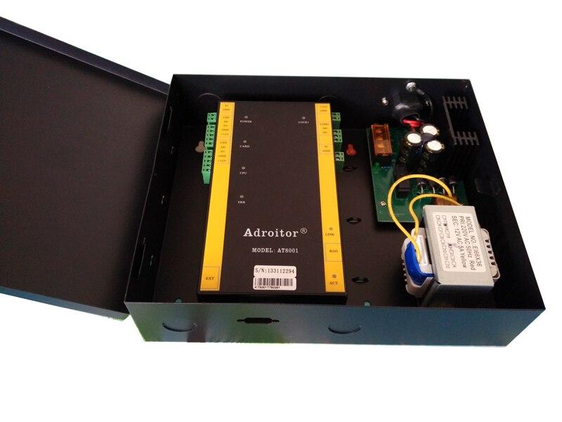 Newest wiegand brand 32-bit TCP single Door Control & power case,support software web smart phonetablet