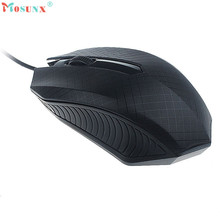 Mosunx Advanced Safe Practical and Stable  Feel  Fashion For PC Laptop Fashion 1200 DPI USB Wired Optical Gaming Mice Mouse 1PC