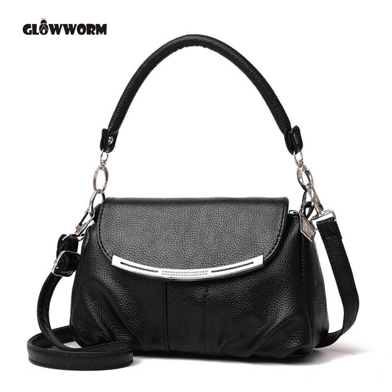Famous Brand Fashion Soft Leather Shoulder Bags Female Crossbody Bag Portable Women Messenger Bag Tote Ladies Handbag Bolsas new fashion women girl student fresh patent leather messenger satchel crossbody shoulder bag handbag floral cover soft specail