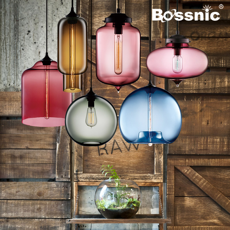 BossnicLighting Restoring Ancient ways Contemporary and Contracted Pendant lighting Restaurant|Bar|European