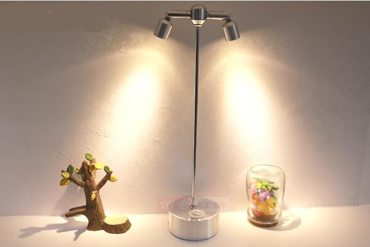 Battery Charging Lamp Double Led Lamp Wireless Display