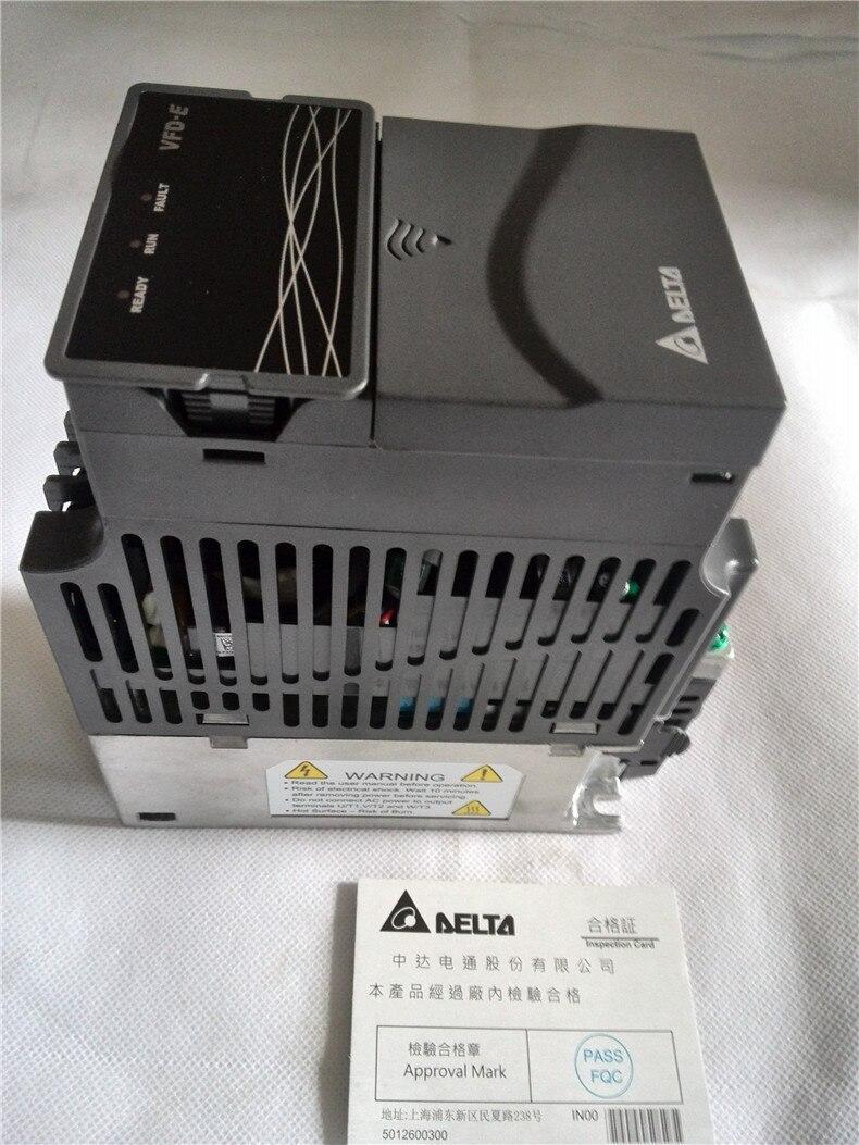VFD007E23A DELTA VFD-E Series VFD Inverter Frequency converter 750w 1HP 3 PHASE 220V 600Hz for drilling woodworking machine