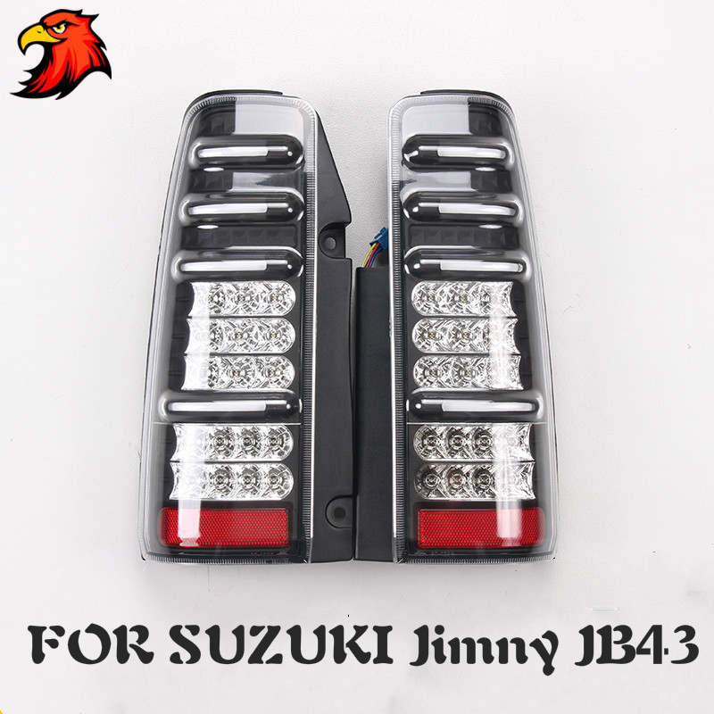 Tail Light Assembly For Suzuki Jimny JB43 Tail Rear Lamp Taillight With Brake Light And Reversing Light