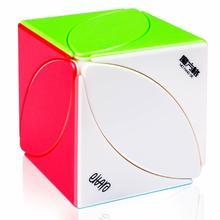 Khối Rubik Phong Khối FengYe Stickerless Tốc Độ Xiên Cube Xoắn Xếp Hình Lá Thường Xuân 56mm 1 Chiếc An Toàn ABS siêu Mịn Đồ Chơi