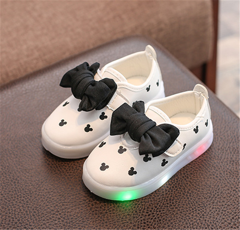 kids girls shoes with light (14)
