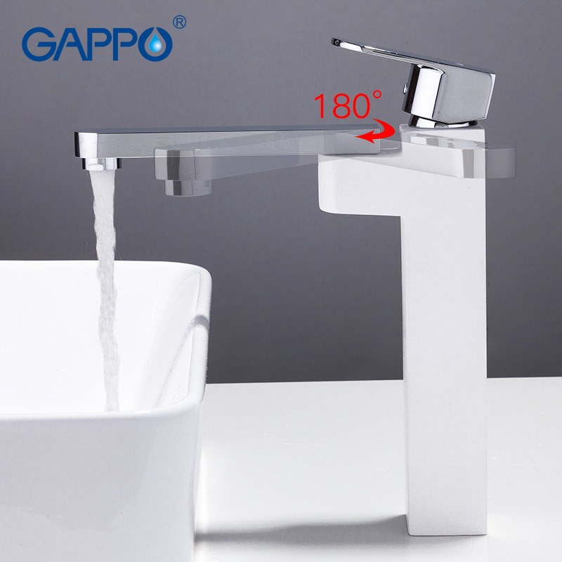 GAPPO bathroom Basin faucet waterfall taps tall sink faucets basin mixer deck mounted tap torneira