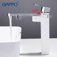цена GAPPO bathroom Basin faucet waterfall taps tall bathroom sink faucets basin mixer deck mounted tap torneira