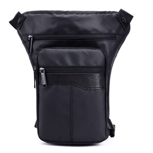 Image 3 - Men Waterproof Oxford Fashion Drop Leg Bag Fanny Waist Pack Casual Shoulder Bag Military Motorcycle Riding Cross Body Pouch