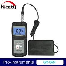 Landtek GM-06 измеритель блеска контроль поверхностной очистки Glossmeter диапазон измерения 0,1-200GU электронный блеск для краски 60 градусов