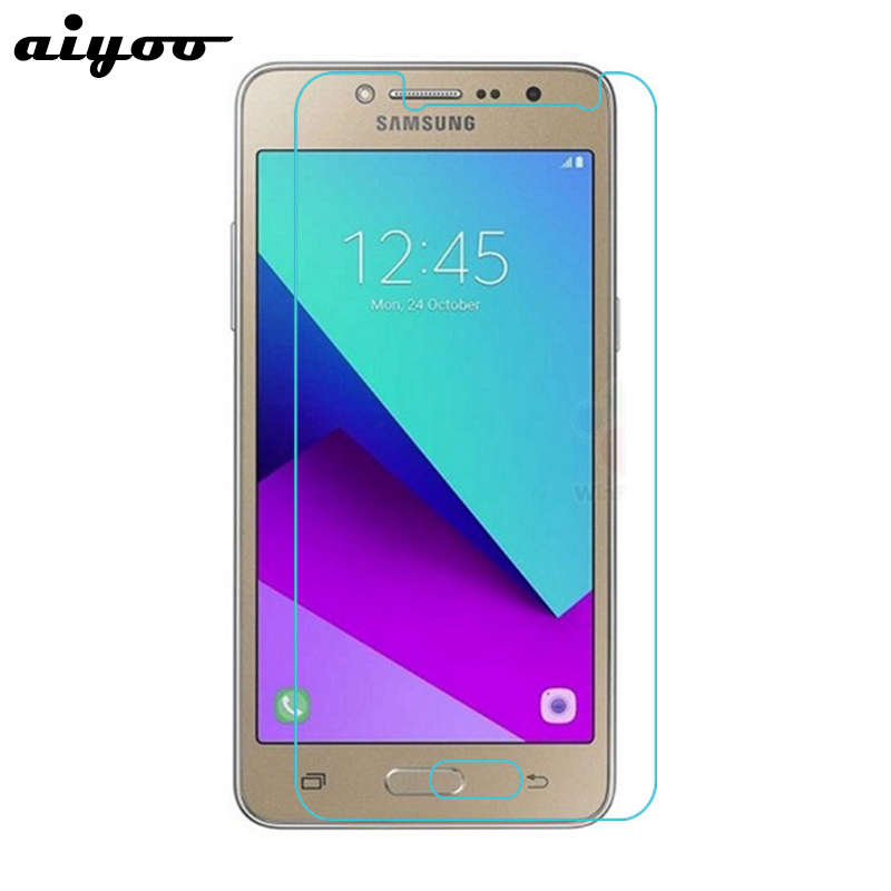 Aiyoo 9H 2.5D Tempered Glass For Samsung Galaxy J2 Prime SM-G532F Screen Protector For Samsung J2 Prime G532 5.0 Inch Glass Film