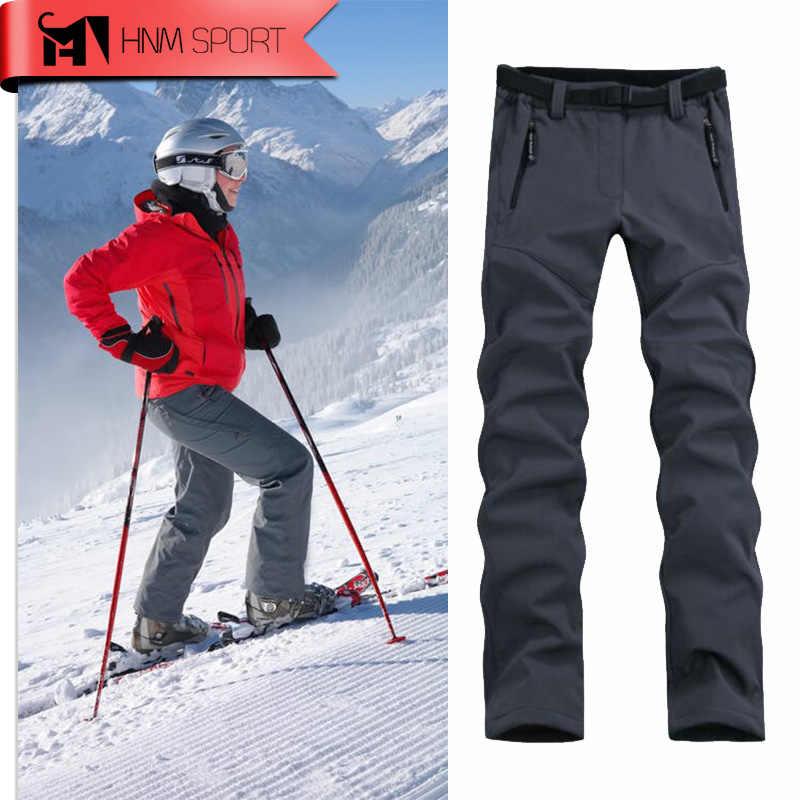 Новинка 2017, женские плотные теплые флисовые мягкие брюки, брюки для рыбалки, кемпинга, походов, катания на лыжах, водонепроницаемые ветрозащитные прямые поставки