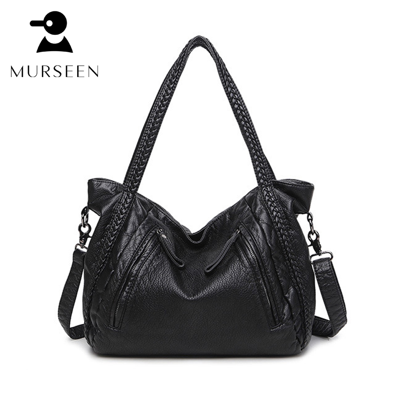 2017 Large Soft Genuine Leather Bag Women Handbags real leather Ladies Crossbody Bags For Women Shoulder Bags Female Big Tote