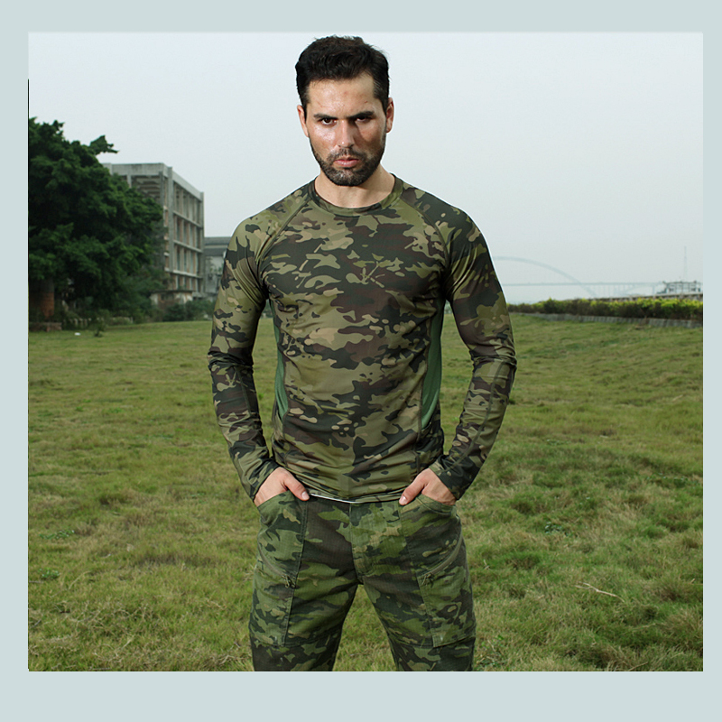 2017 Multicam Tropic Tactical Quickdry Tees MTP Mesh Breathable <font><b>T</b></font>-<font><b>shirts</b></font> long sleeve MCA MCBK <font><b>MC</b></font> Top image