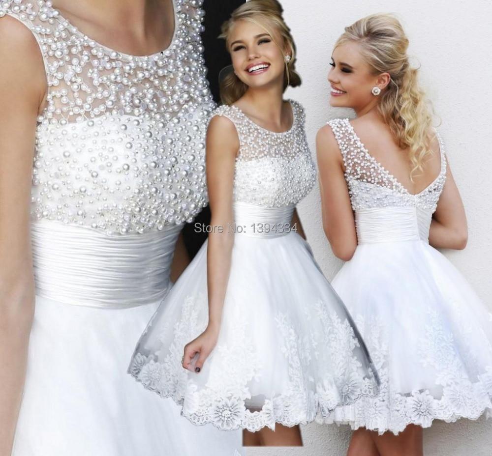 Popular White Reception Dresses-Buy Cheap White Reception Dresses ...