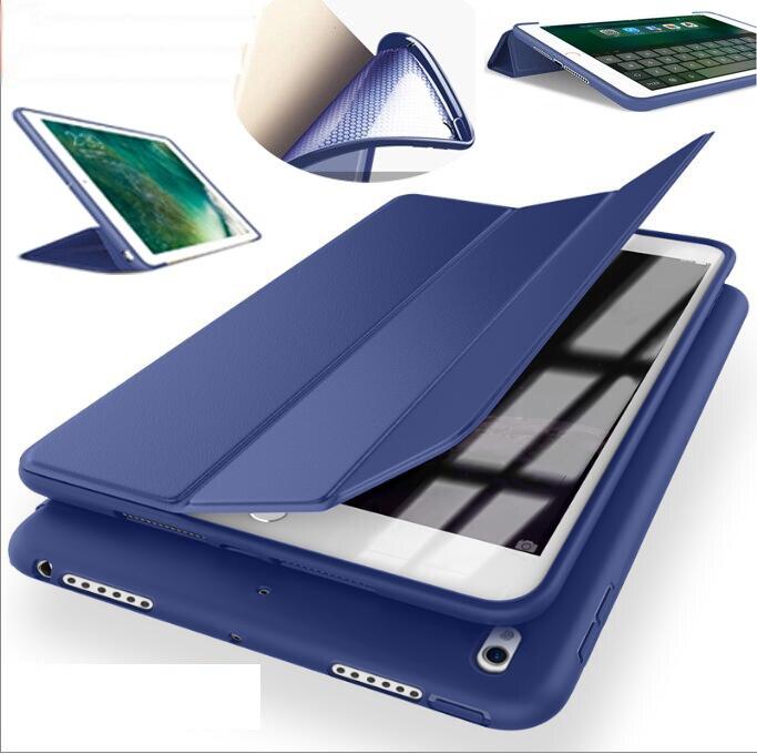 SUREHIN proteggere magnetico molle del silicone di tpu custodia in pelle per apple ipad mini 3 2 1 smart cover per ipad mini 1 2 3 caso manicotto