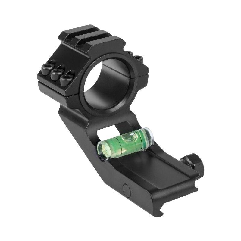WESTHUNTER 1 pouce/30mm en porte-à-faux Weaver portée décalée anneaux et supports niveau à bulle avec Rail de Picatinny supérieur